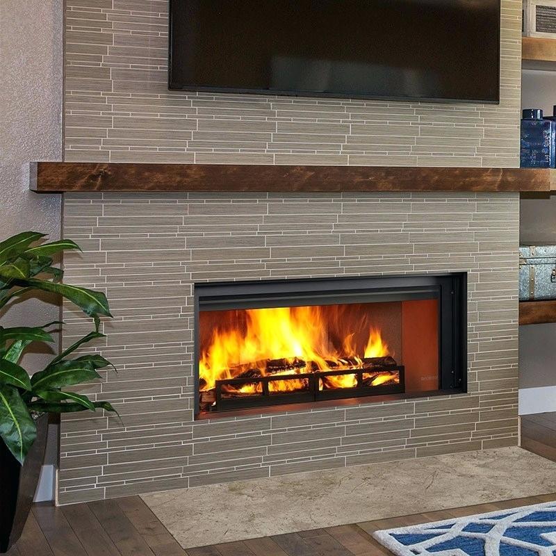 wood fireplace insert burning inserts l heatilator removing an old fireplac