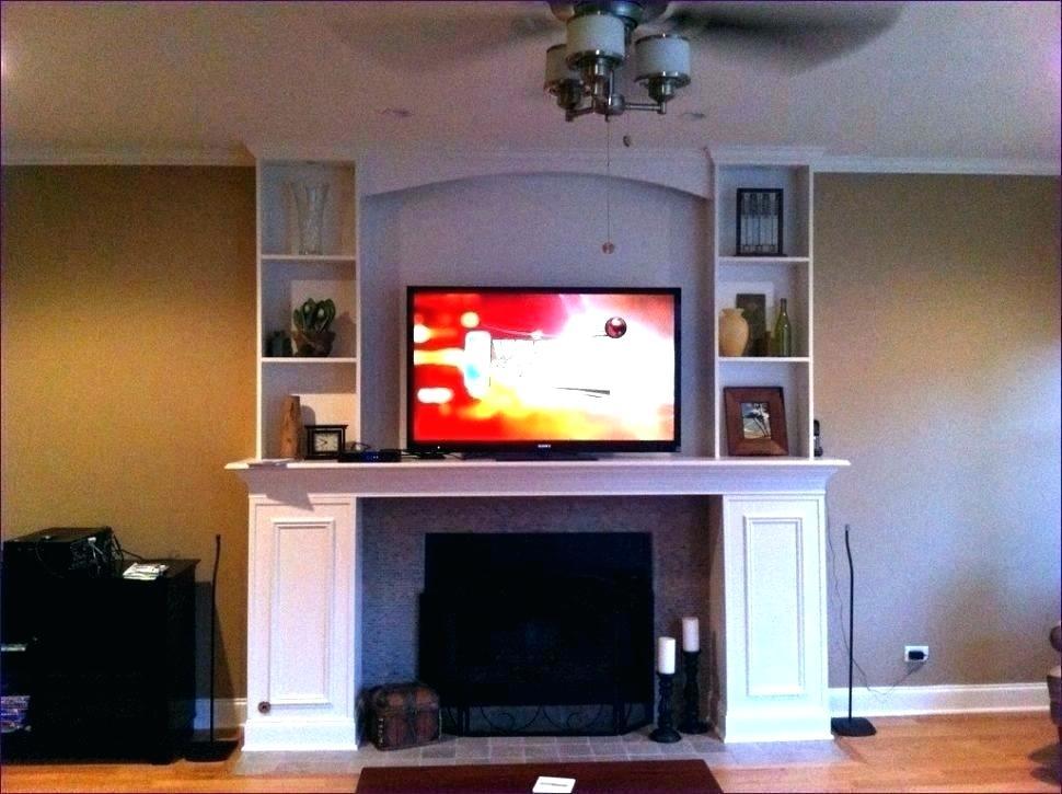 Hidden Tv Above Fireplace Inspirational Tv Hidden In Wall – Slloydsfo