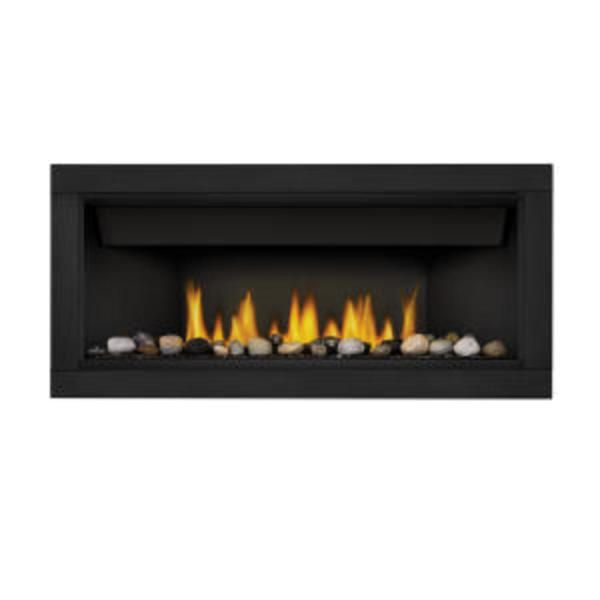 napoleon ascent linear series 46 direct vent natural gas fireplace electronic ignition 6