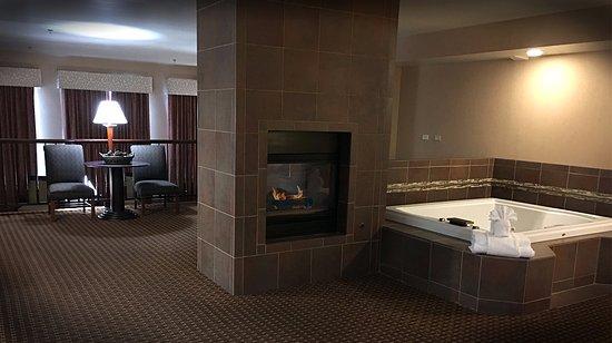 evergreen fireplace