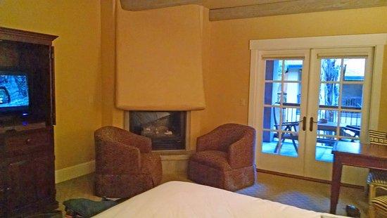 top floor fireplace room