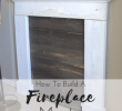 How to Build A Fireplace Mantel From Scratch Luxury No Fireplace Mantel No Problem Build Your Own