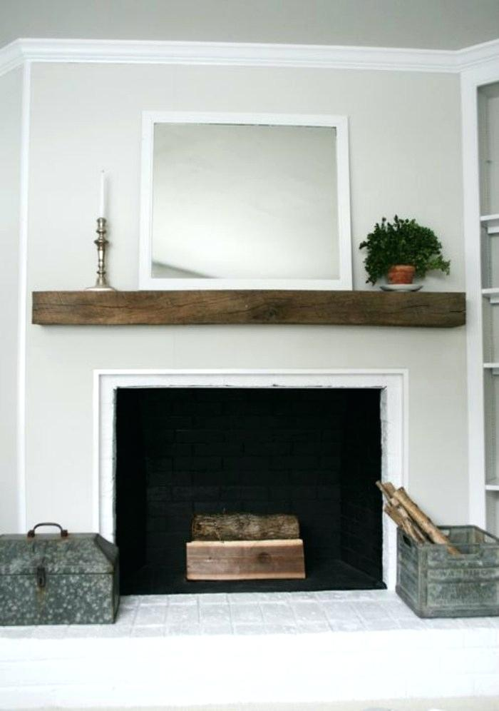 diy fireplace mantel shelf view in gallery for brick