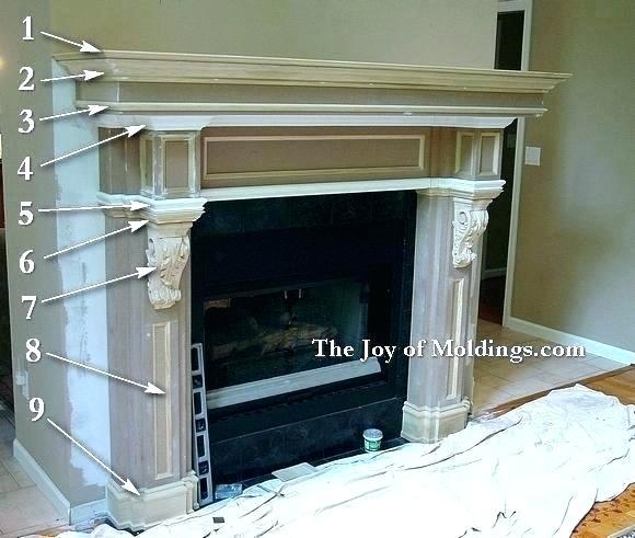 homemade fireplace insert fabulous build mantels creative ideas making a mantel fancy design how to