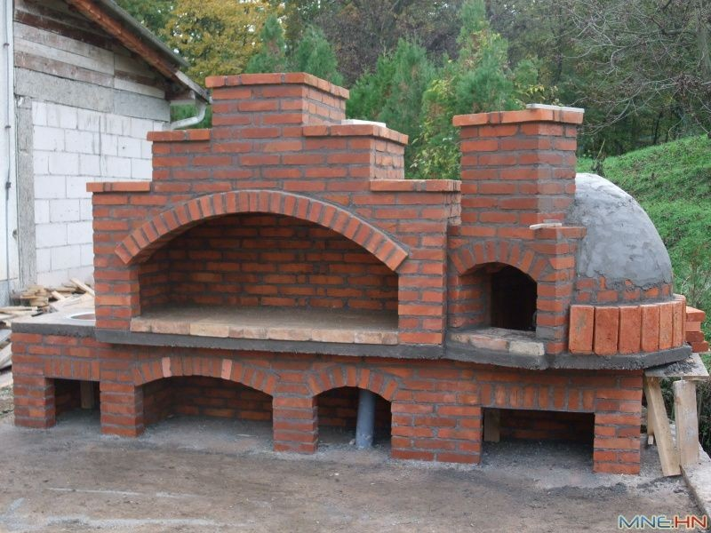 outdoor stone fireplace with pizza oven elegant pecara od stare cigle iskanje google ideje pinterest of outdoor stone fireplace with pizza oven