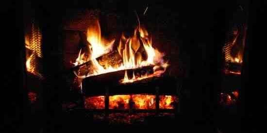 fire fireplace