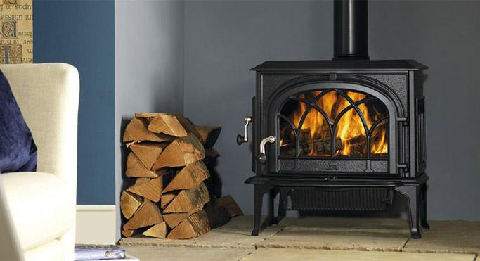 cast iron stove