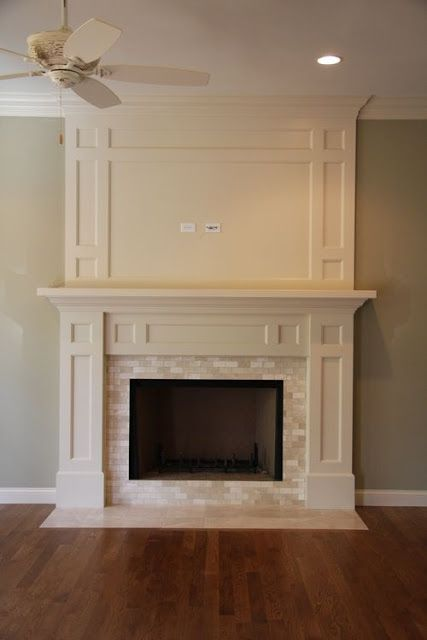 How to Hide Tv Wires Over Brick Fireplace Awesome Simple Trim with Big Impact Hide Tv Cable Internet Cords