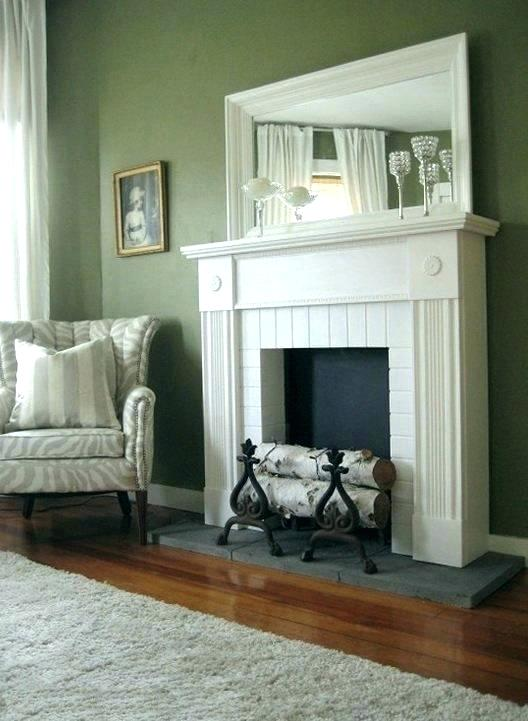 diy fireplace mantel shelf fake mantels faux me inside decorations 1 floating install on brick plans