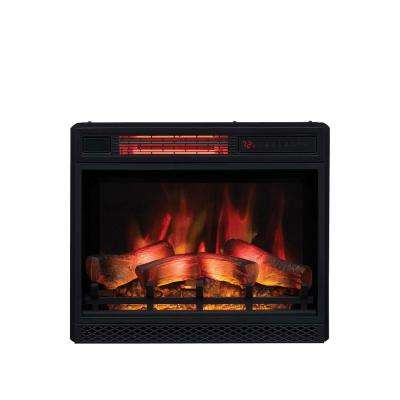 How to Install An Electric Fireplace Insert Luxury 23 In Ventless Infrared Electric Fireplace Insert with Safer Plug