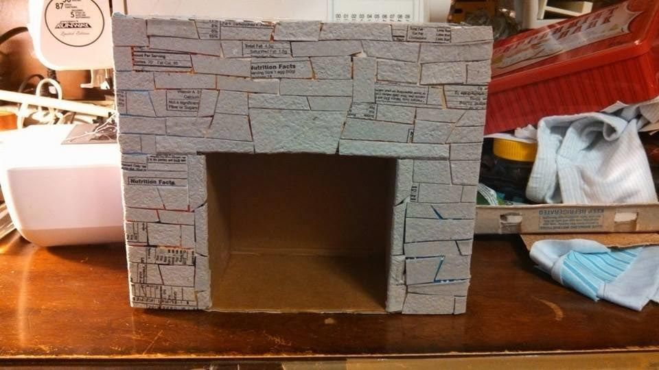 How to Make A Fake Fireplace Mantel Awesome How to Make A Fake Fireplace Out Of Cardboard