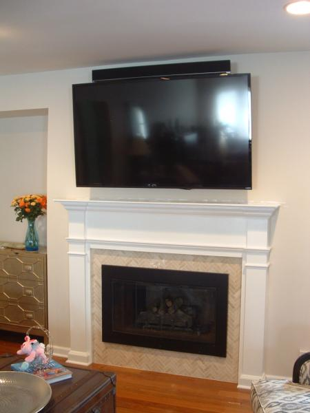 d tv over fireplace metal studs dscf0003