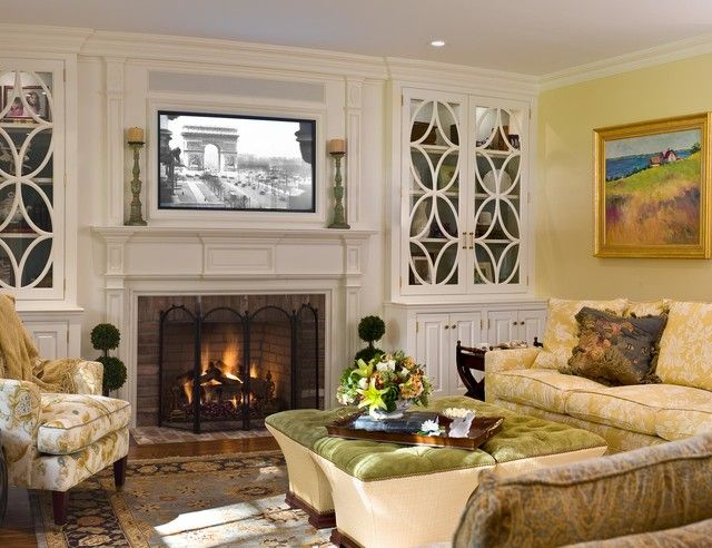 How to Mount A Tv Over A Fireplace Luxury Mounting A Tv Over A Fireplace Living Room Traditional with