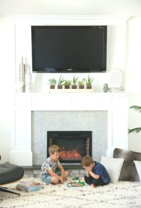 How to Mount A Tv Over A Fireplace New the Best Way to Adorn A Mantel with A Tv It