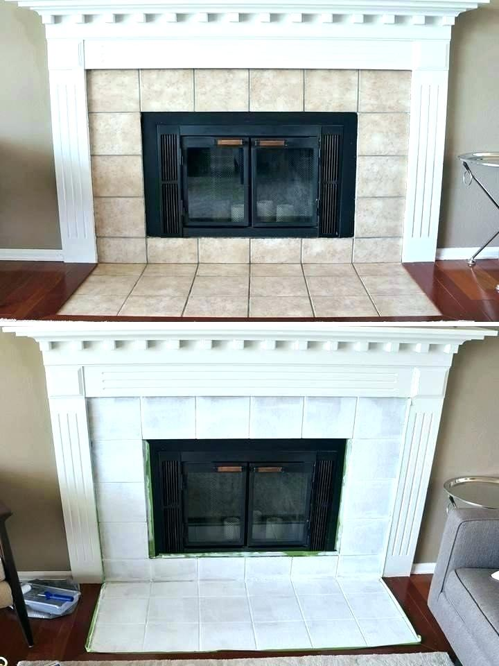painting tile around fireplace painting fireplace tile paint fireplace tile as well as freckles fireplace mini tile fireplace update spray painting marble tile fireplace painting tile fireplace hearth