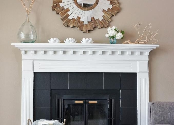 How to Paint Fireplace Tile Fresh the Living Room Fireplace is A Favorite Feature In Our House