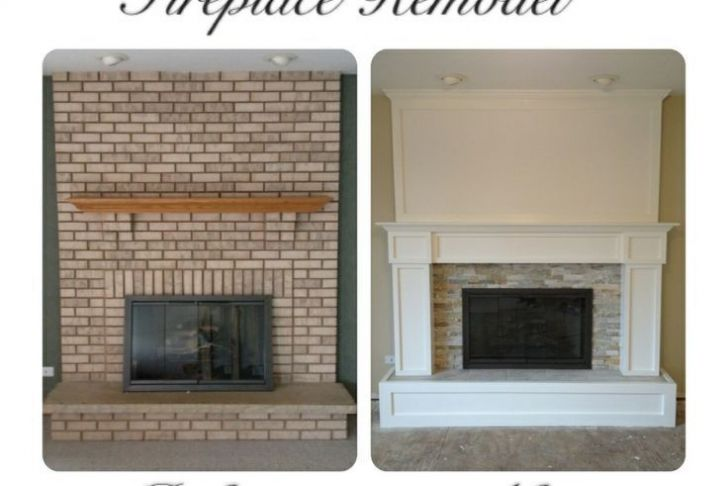 How to Remodel A Fireplace Luxury Remodeled Brick Fireplaces Brick Fireplace Remodel