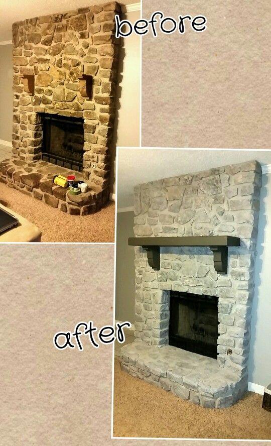 How to Whitewash Stone Fireplace Elegant Patricia Cobb Trishcobb23 On Pinterest