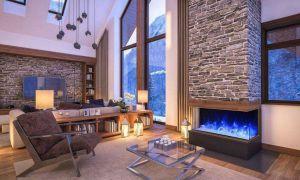 23 Elegant Indoor Outdoor Fireplace