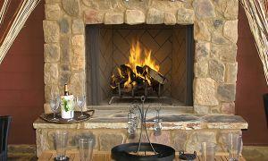 18 Luxury Indoor Outdoor Wood Burning Fireplace