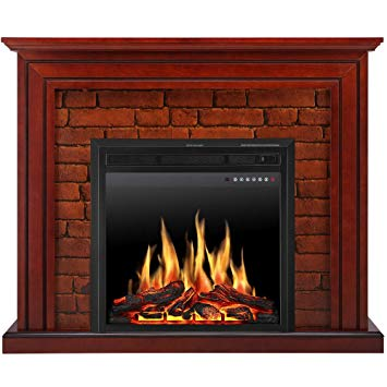 Infrared Quartz Electric Fireplace Best Of Jamfly Electric Fireplace Mantel Package Traditional Brick Wall Design Heater with Remote Control and Led touch Screen Home Accent Furnishings