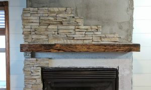 21 Unique Install Stacked Stone Fireplace