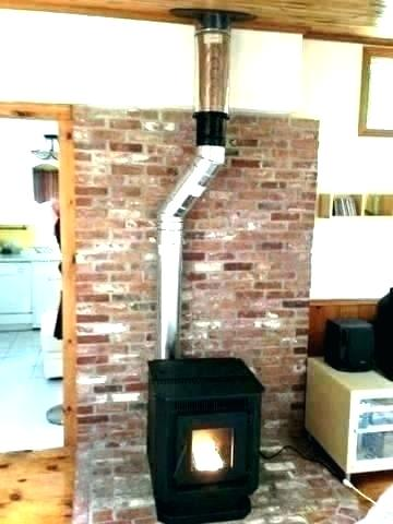 wood burning stove flue burner pipe installation fans inline chimney fan od kits through the wall kit mounted i