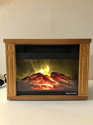 Intertek Electric Fireplace Fresh Intertek Heat Surge Mini Glo Fireplace Electric Space Heater