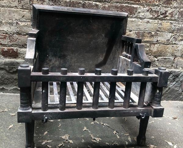 Iron Fireplace Grate Beautiful Antique Cast Iron Fireplace Grate Box