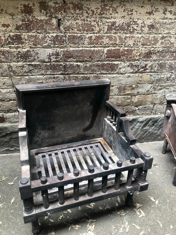 Iron Fireplace Grate Fresh Antique Cast Iron Fireplace Grate Box