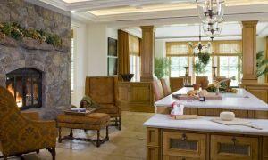 27 Luxury Kitchen Fireplace