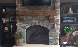 11 Beautiful Large Fireplace Mantels