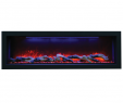 "Led Electric Fireplace Insert Inspirational Amantii Panorama 50"" Deep Electric Fire"