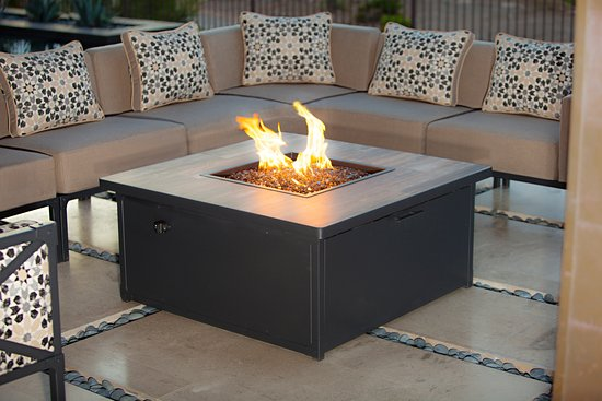gas fire pits made in