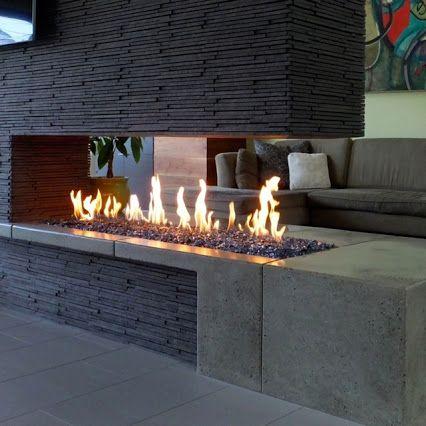 Linear Fireplace Gas Inspirational Google Modern Fireplaces