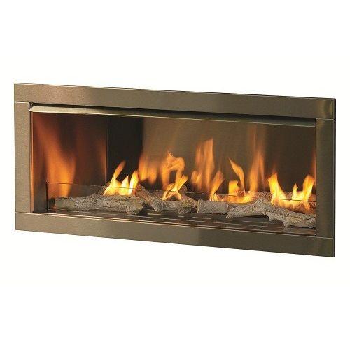 "Linear Gas Fireplace Inserts Elegant Firegear Od42 42"" Gas Outdoor Vent Free Fireplace Insert"