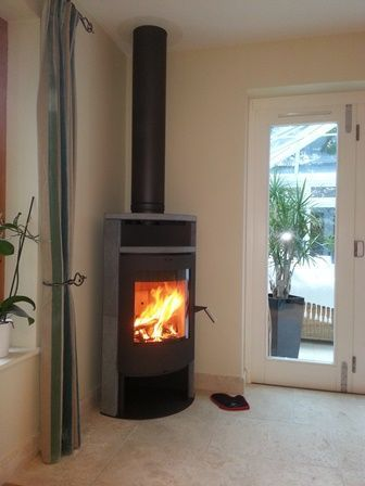 Log Fireplace Fresh Corner Wood Burning Stove Google Search