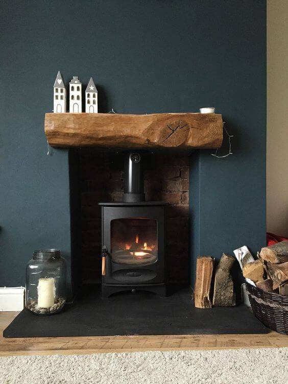 Log Fireplace Unique 11 Cosy Fireplace Hearth Ideas Houspire
