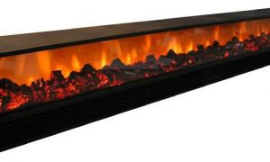 29 Lovely Long Electric Fireplace