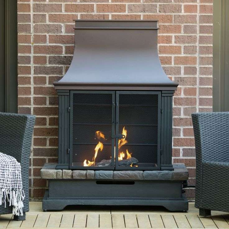 Long Gas Fireplace Elegant Awesome Chimney Outdoor Fireplace You Might Like