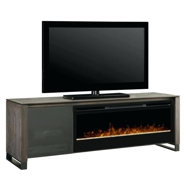 electric fireplace console media white costco well universal 72 lowes