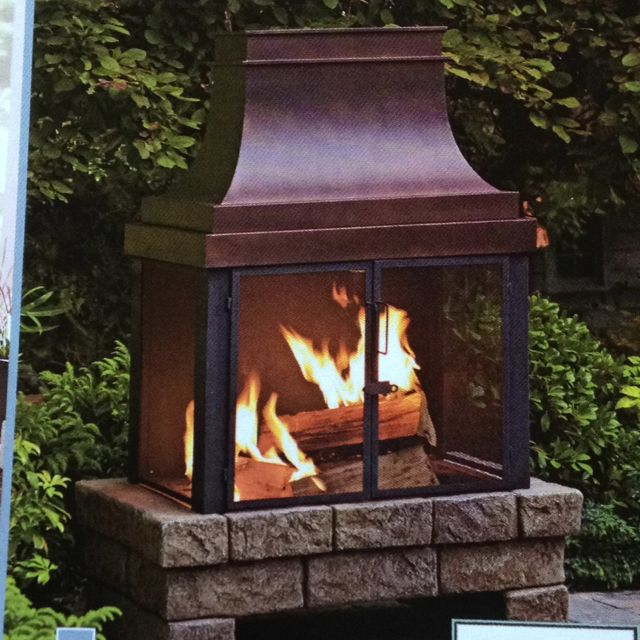 Lowes Fireplace Stone Unique Lowes Outdoor Fireplace with Faux Stone Base by