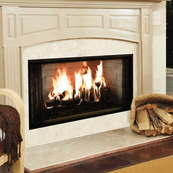 "Majestic Fireplace Lovely Majestic Royalton 42"" Wood Burning Fireplace In 2019"
