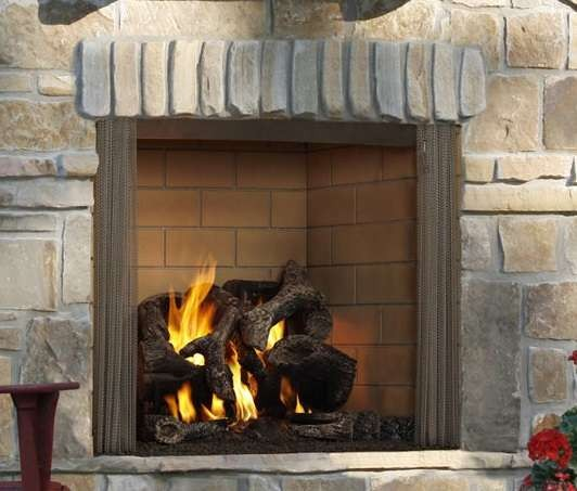 outdoor gas fireplace inserts lovely outdoor gas fireplace insert luxury odcastlewd42 majestic castlewood of outdoor gas fireplace inserts