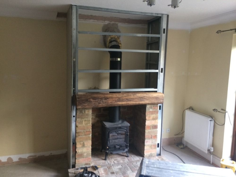 Making A Fireplace Lovely Building A Fireplace Into An Existing Chimney