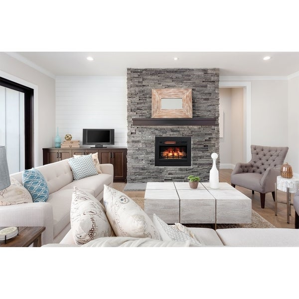 ClassicFlame 26 3D Infrared Quartz Electric Fireplace Insert 2e5276fe 9e71 40c0 882b 31ba ff 600