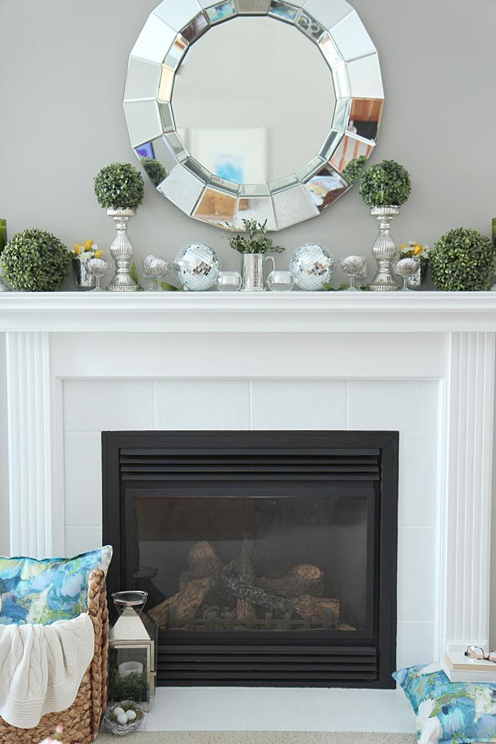 Mantle Fireplace New How to Decorate A Fireplace without Mantle