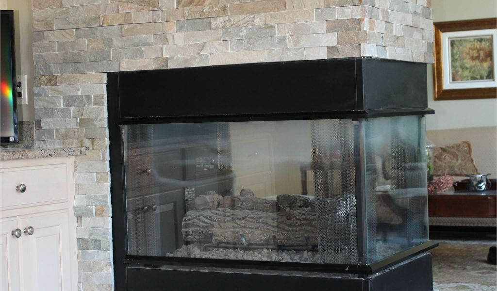 gas fireplace without mantle new gas fireplace with custom slate surround house pinterest of gas fireplace without mantle 1024x600