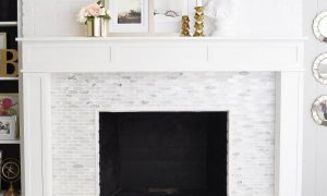 11 Lovely Marble Tile Fireplace Surround