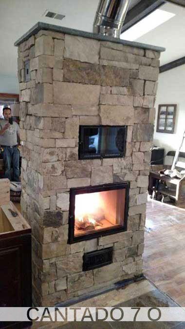 Masonary Fireplace Construction Unique Cantado Series Greenstone soapstone Masonry Heaters
